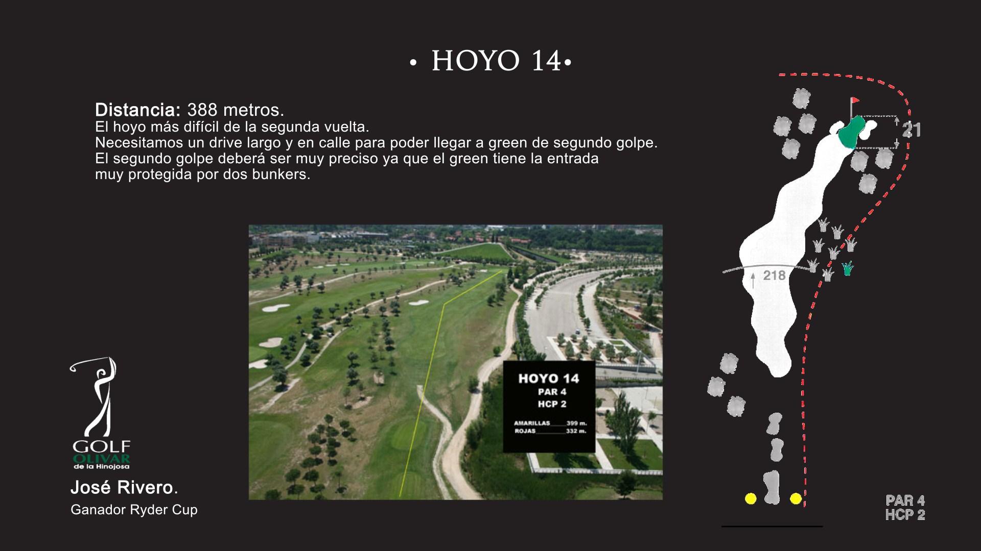 Hoyo 14 Olivar de la Hinojosa