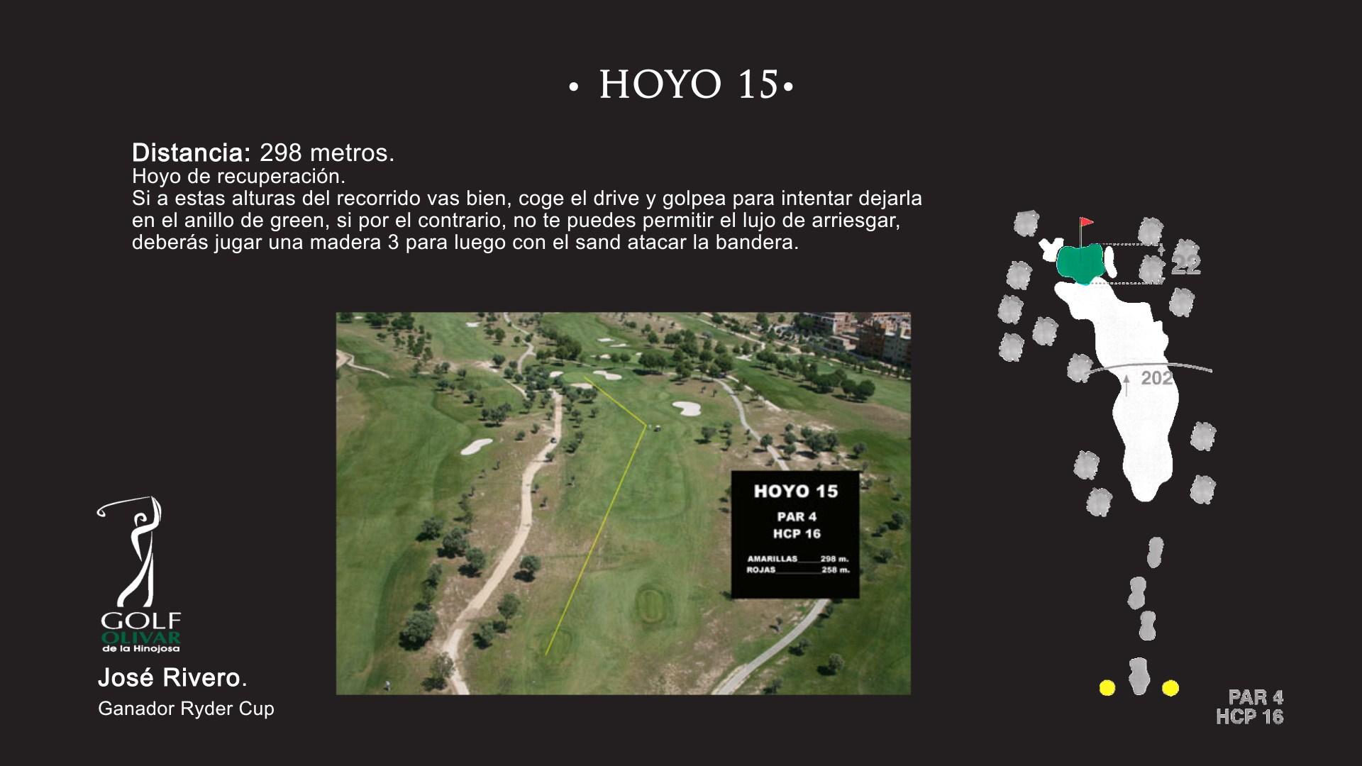 Hoyo 15 Olivar de la Hinojosa