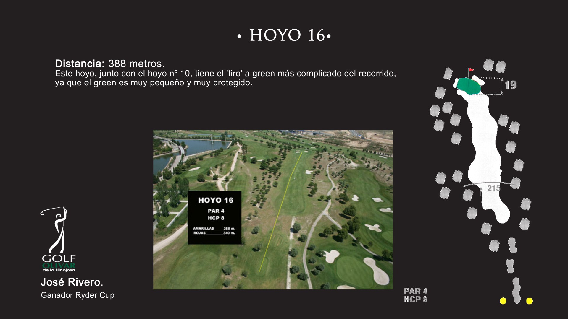 Hoyo 16 Olivar de la Hinojosa
