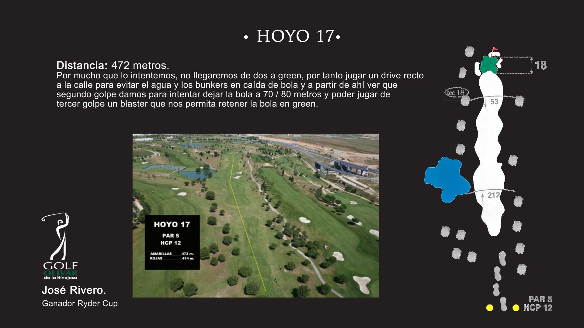 Hoyo 17 Olivar de la Hinojosa