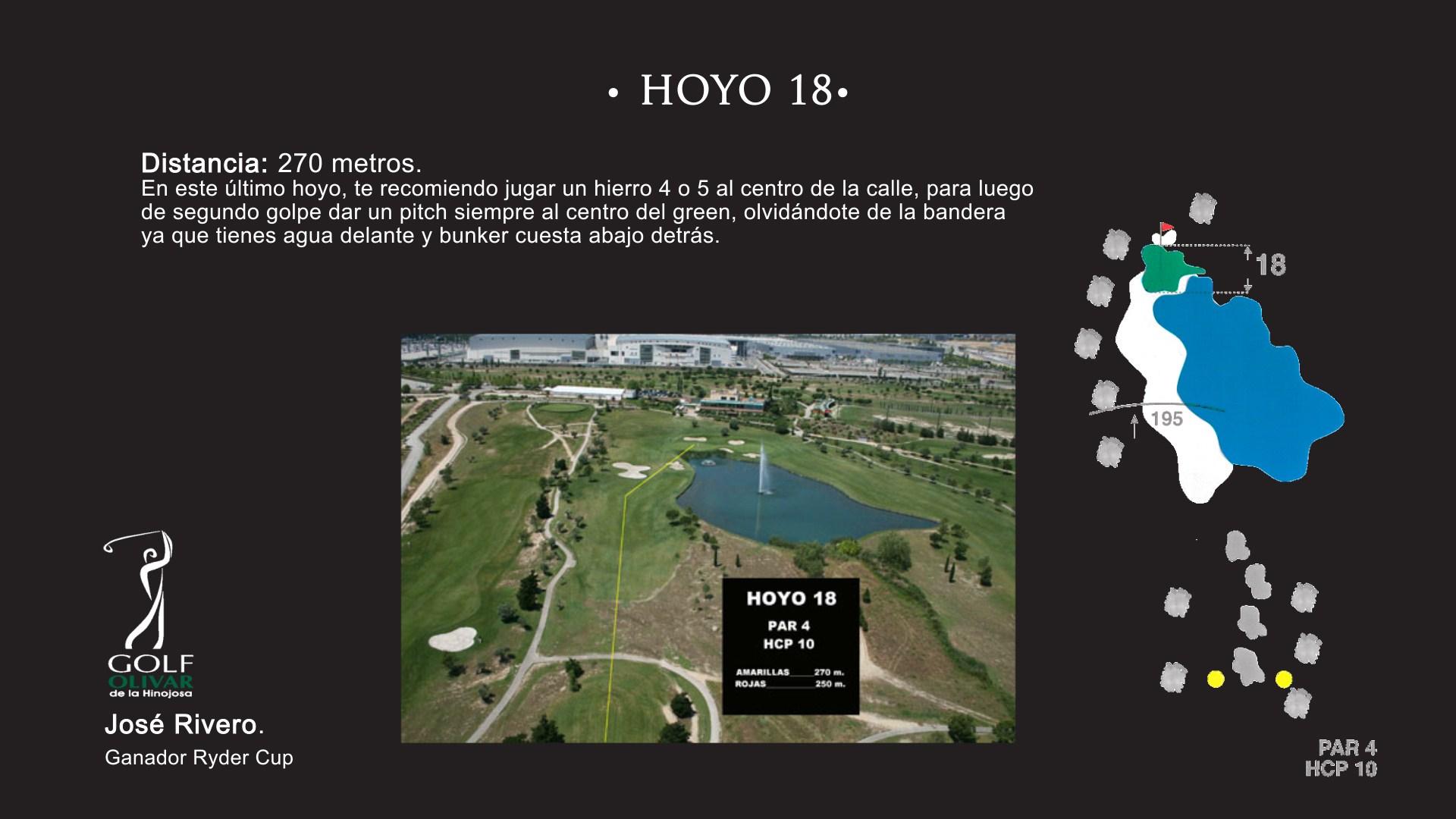 Hoyo 18 Olivar de la Hinojosa