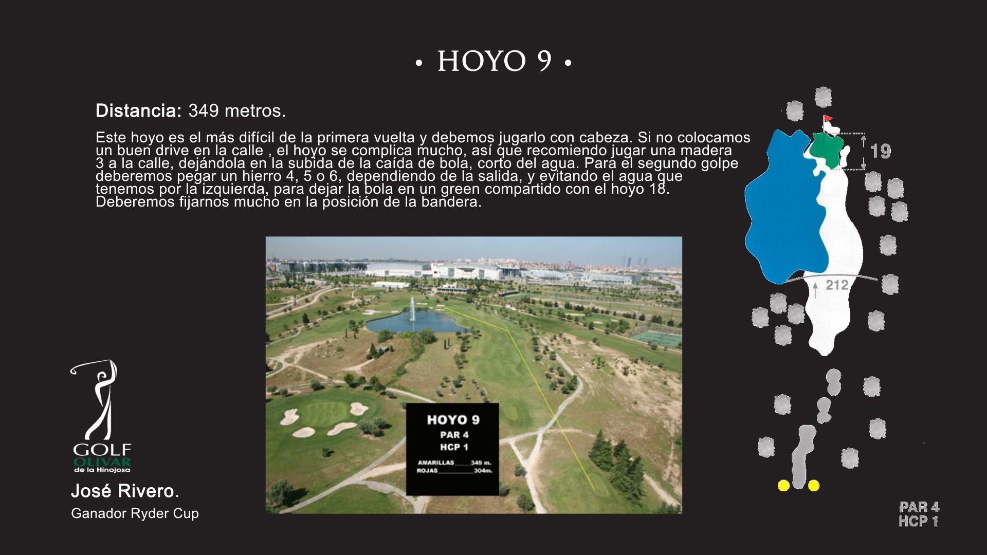 Hoyo 9 Olivar de la Hinojosa