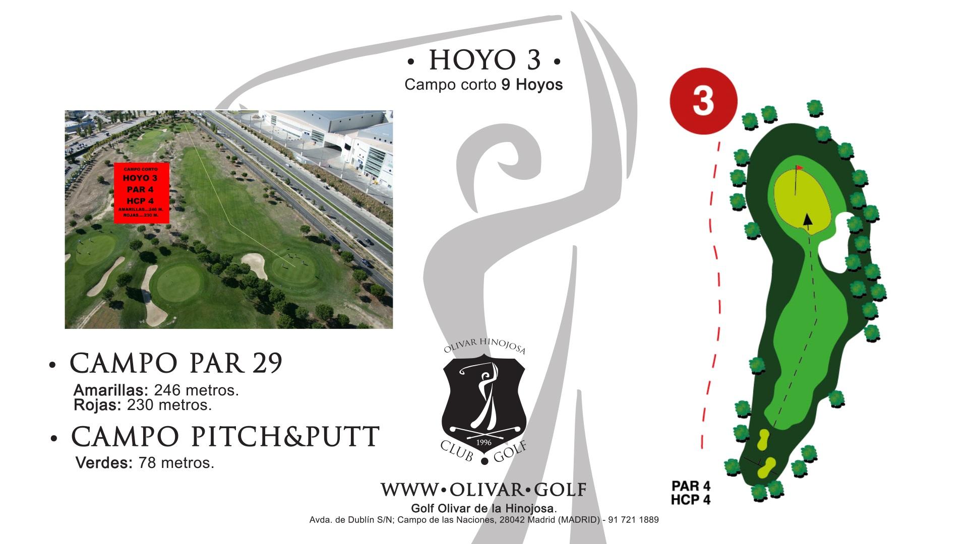 Hoyo 3 Olivar de la Hinojosa
