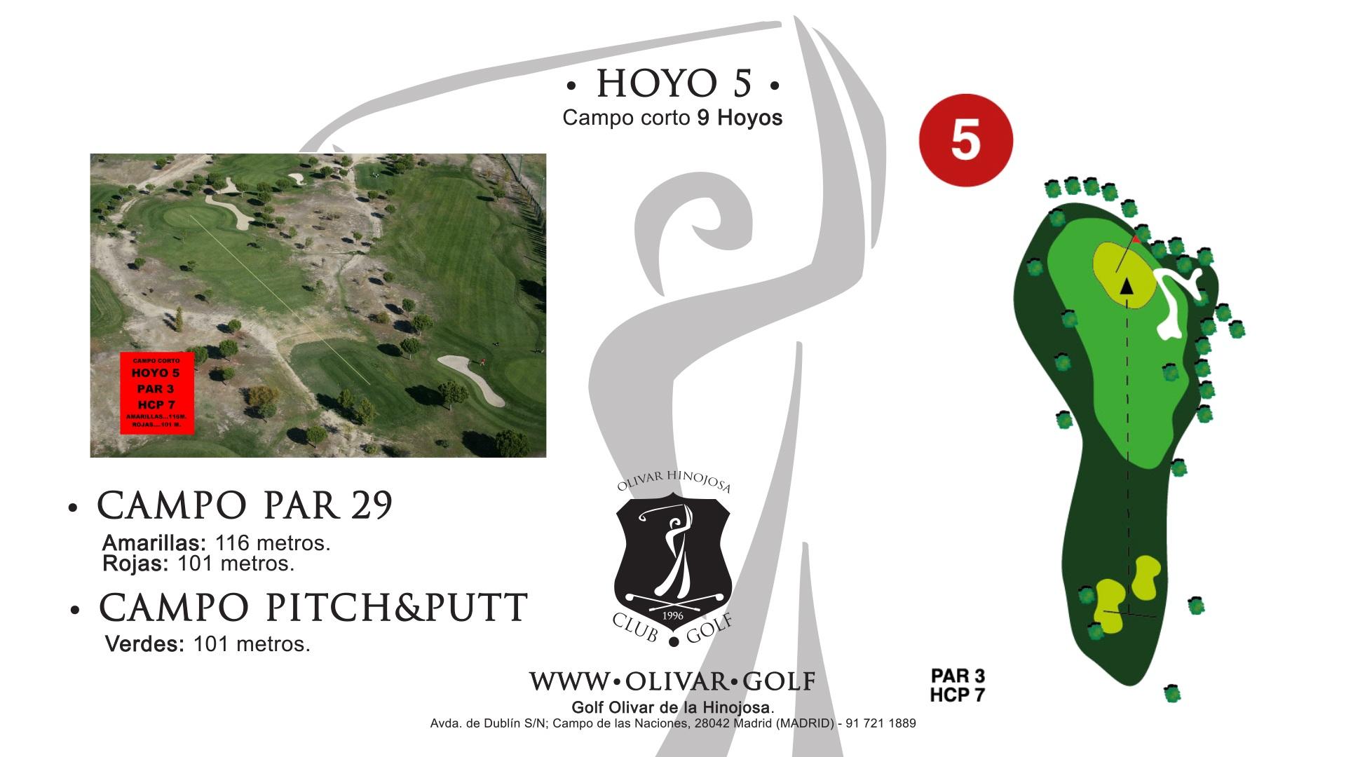 Hoyo 5 Olivar de la Hinojosa