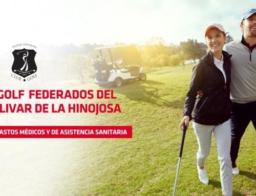 Ventajas seguros MAPFRE (Jugadores federados golf Olivar de la Hinojosa)