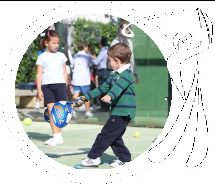 Escuela de Padel para niños Infantil Golf Olivar Hinojosa