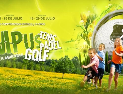 Summer Campus Olivar – Golf, tenis y pádel para niños