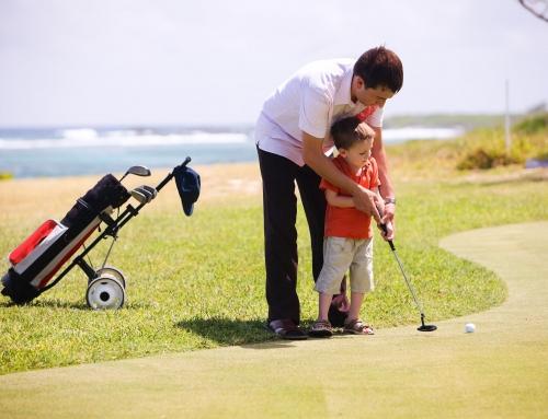 7 beneficios para los niños de jugar al golf