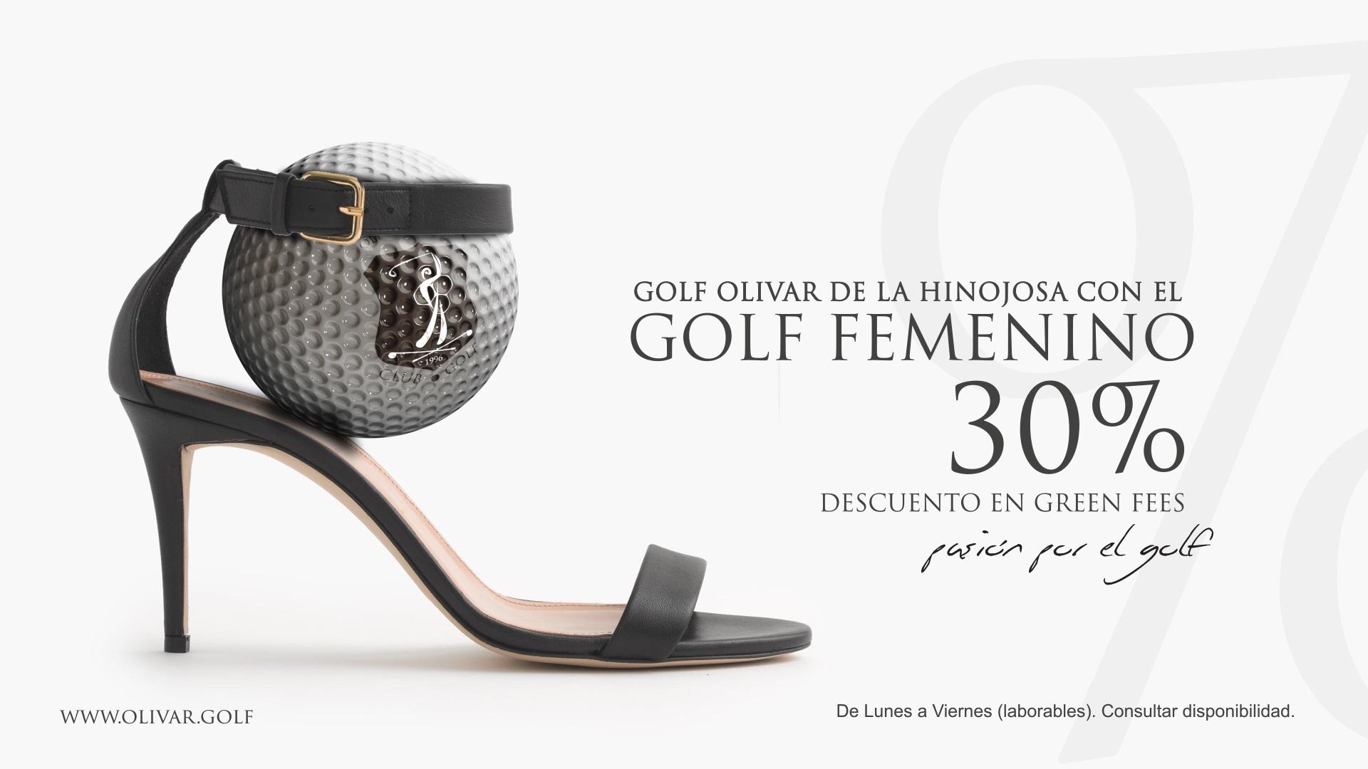 Golf Olivar JOaquin MOlpeceres Oferta golf femenino