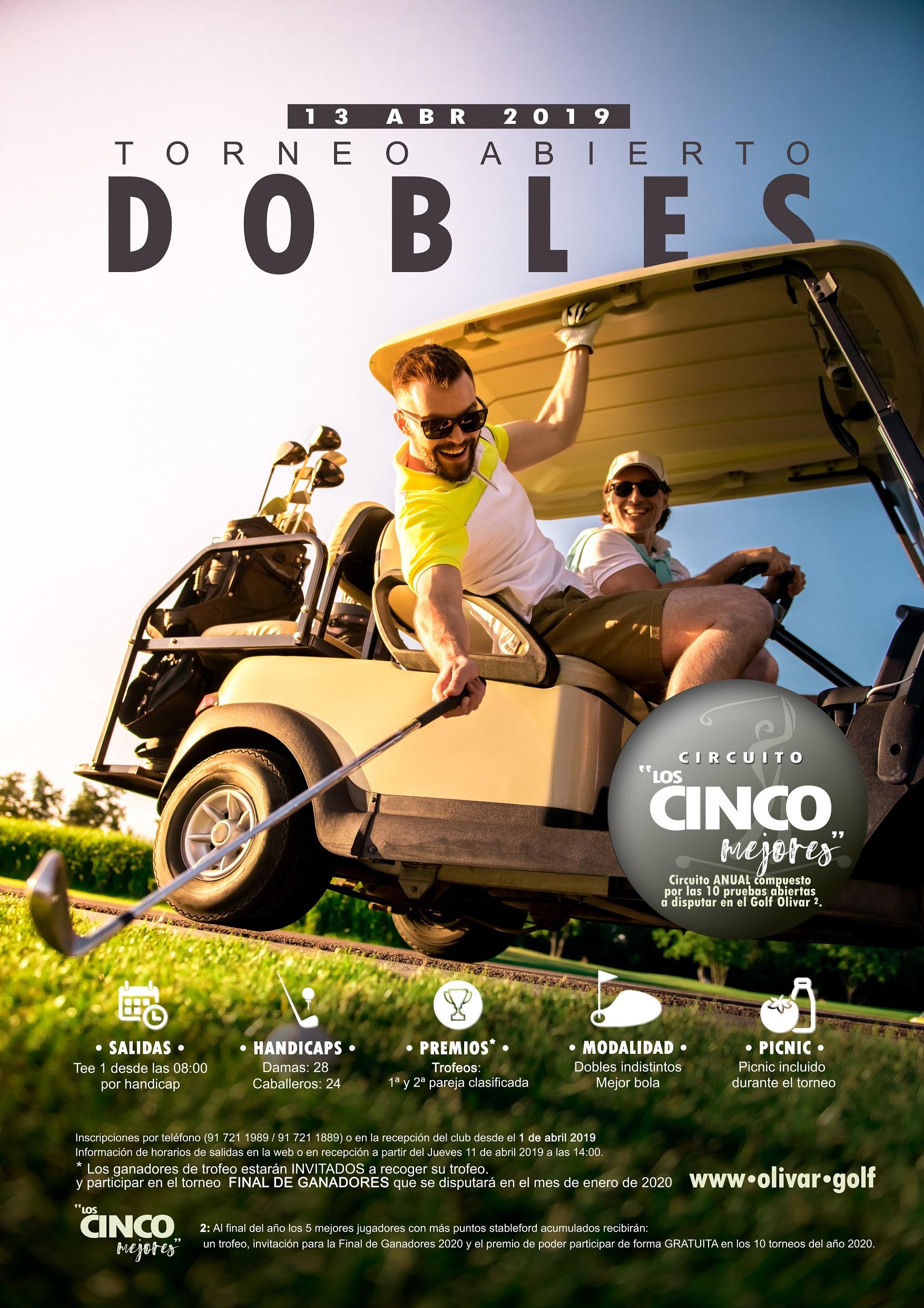 Torneo Cartel Golf Joaquin Molpeceres Perfect Pixel Publicidad