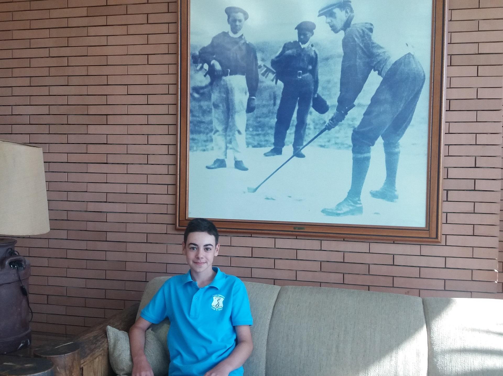 Joaquin MOlpeceres Pablo Golf Olivar de la Hinojosa Entrada