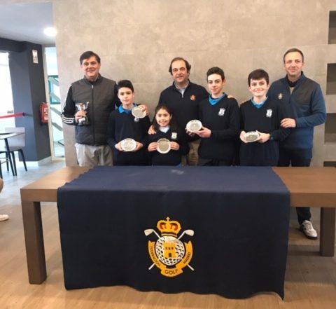 Joaquín Molpeceres Golf Olivar de la Hinojosa Campeones