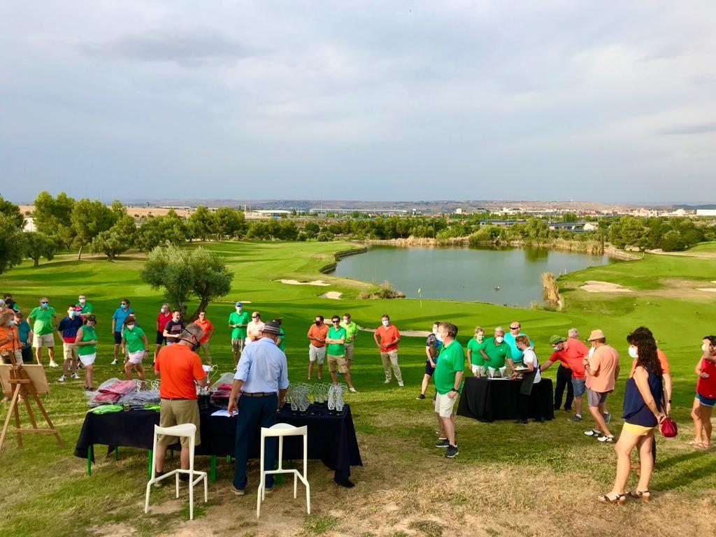 JOaquin Molpeceres en la final del Ranking Golf Olivar/Encín & Friends