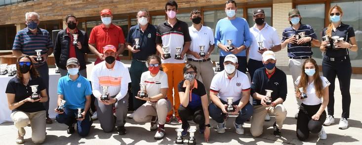 Joaquin Molpeceres Sanchez Un gran día de golf con los mejores de la temporada Encin Golf