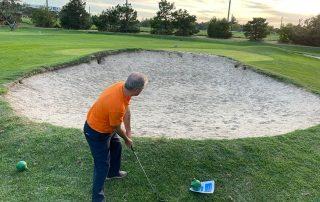 Joaquin Molpeceres Sanchez en el campo de golf Olivar de La Hinojosa